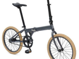 Retrospec Bicycles Speck Folding Single-Speed Bicycle