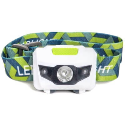 LED Headlamp - Great for Camping, Hiking, Kids, and Dog Walking