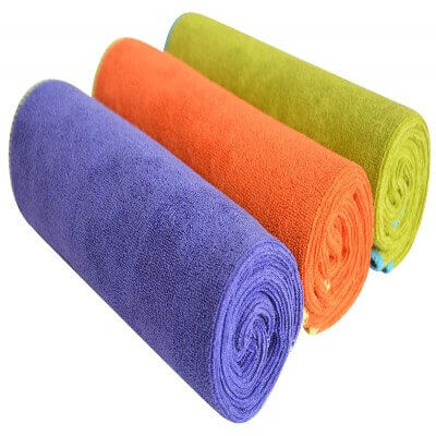 SINLAND Microfiber Gym Towels Fast Drying Sports Fitness Workout Sweat Towel