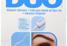 DUO Strip Lash Adhesive White Clear, for strip false eyelash