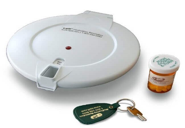 e-pill Automatic Pill Dispenser for home or institutional use. MD1 MedTime XL. Original Swedish Design
