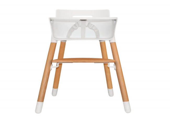 Asunflower Wooden High Chair Adjustable Feeding Baby Highchairs Solution with Tray for Baby,Infants,Toddlers