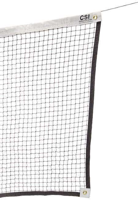 Cannon Sports Knotted Badminton Tournament Net with Steel Cable, 21