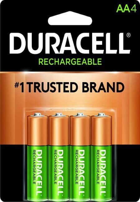 Duracell - Rechargeable AA Batteries - long lasting, all-purpose Double A battery for household and business