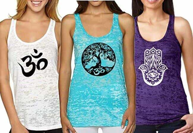 Epic MMA Gear Fitness Tank Top, Workout Tanks, Racerback Bundle of 3