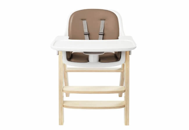 OXO Tot Sprout High Chair, Taupe Birch