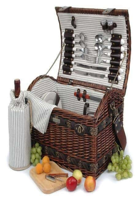 Piccadilly Willow Picnic Basket