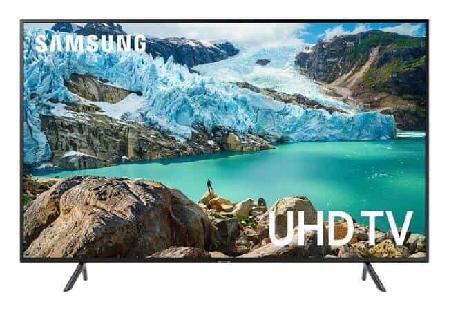 Samsung UN75RU7100FXZA Flat 75-Inch 4K UHD 7 Series Ultra HD Smart TV with HDR and Alexa Compatibility