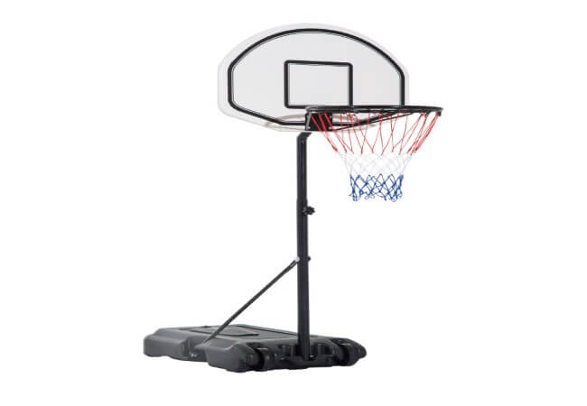 Aosom Portable Swimming Pool Basketball Hoop, 30 Inch Backboard