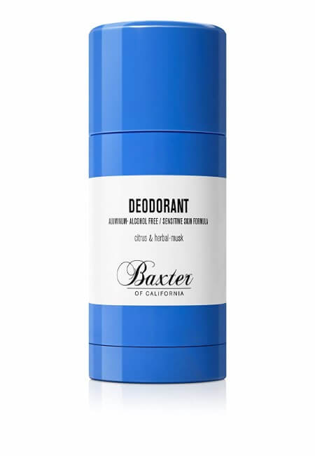 Baxter of California Deodorant, Aluminum Free - Alcohol Free, Clear Stick, Citrus and Herbal-Musk, 2.65 oz