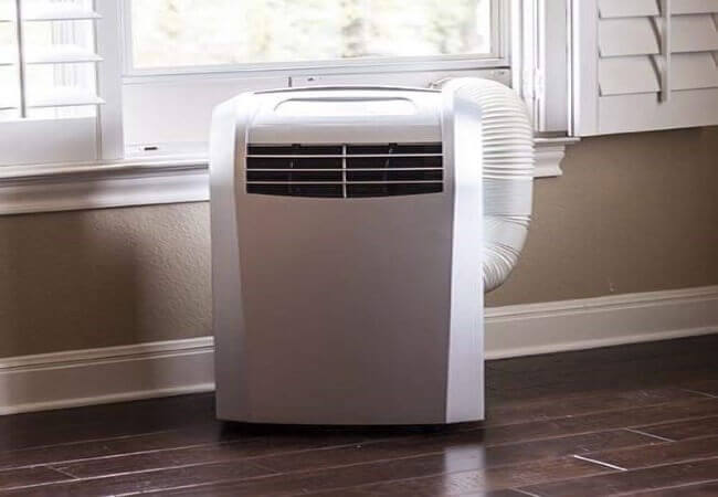 EdgeStar AP12000S Portable Air Conditioner with Dehumidifier and Fan for Rooms up to 425 Sq. Ft. with Remote Control