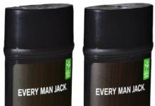 Every Man Jack Aluminum Free Deodorant Cedarwood and Sandalwood Pack of 2