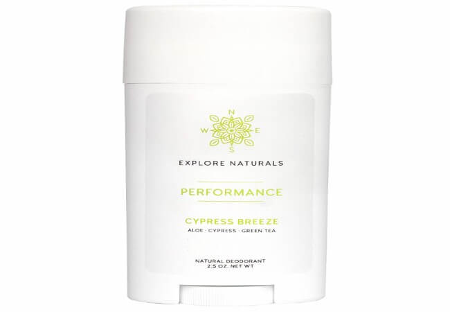 Natural Deodorant – Aluminum-Free, All-Day Performance for Women & Men by Explore Naturals - Paraben, Phthalate, Sulfate & Cruelty Free - Multiple Scents Available, Made in the USA (Cypress Breeze)