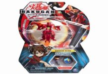 Bakugan Ultra, Dragonoid, 3-Inch Collectible Transforming Action Figure
