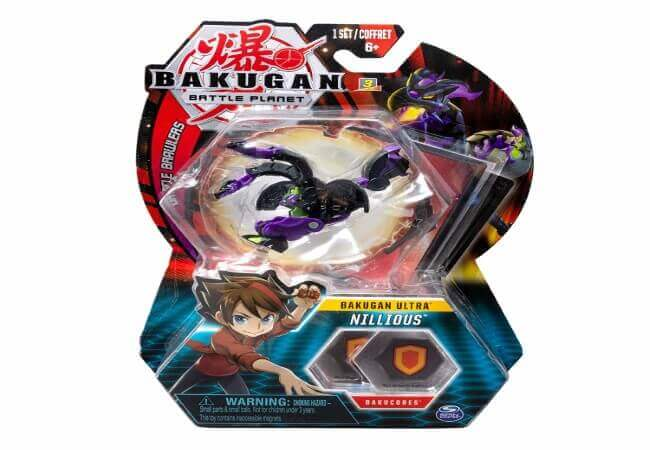 Bakugan Ultra Nillious 3-inch Collectible Transforming Figure