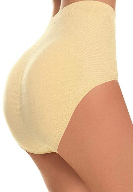 CeesyJuly Womens Shapewear Butt Lifter Padded Control Panties Body Shaper Brief