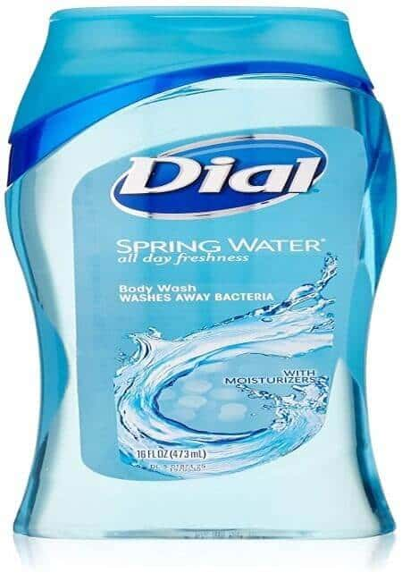 Dial Body Wash With Moisturizers, Spring Water 16 oz(Pack of 3)