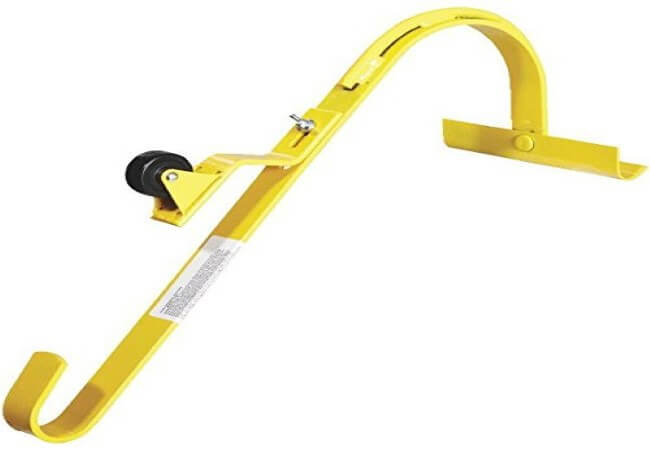 Roof Ridge Ladder Hook With Fixed Wheel & Swivel Bar by ACRO BUILDING SYSTEMS (Custom)